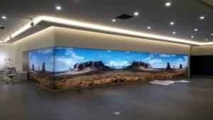 Beurswand led muur