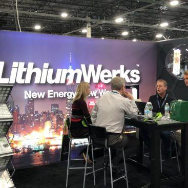 Beursstand Lithium Werks